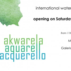 Akwarela international watercolor exhibition April 2015
